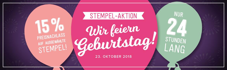 24-Stunden-Aktion am 23.10.2018