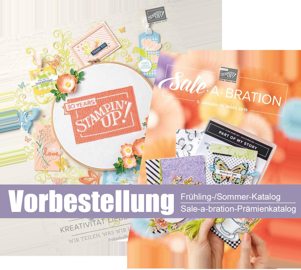 Vorbestellung Frühling/Sommer & SAB