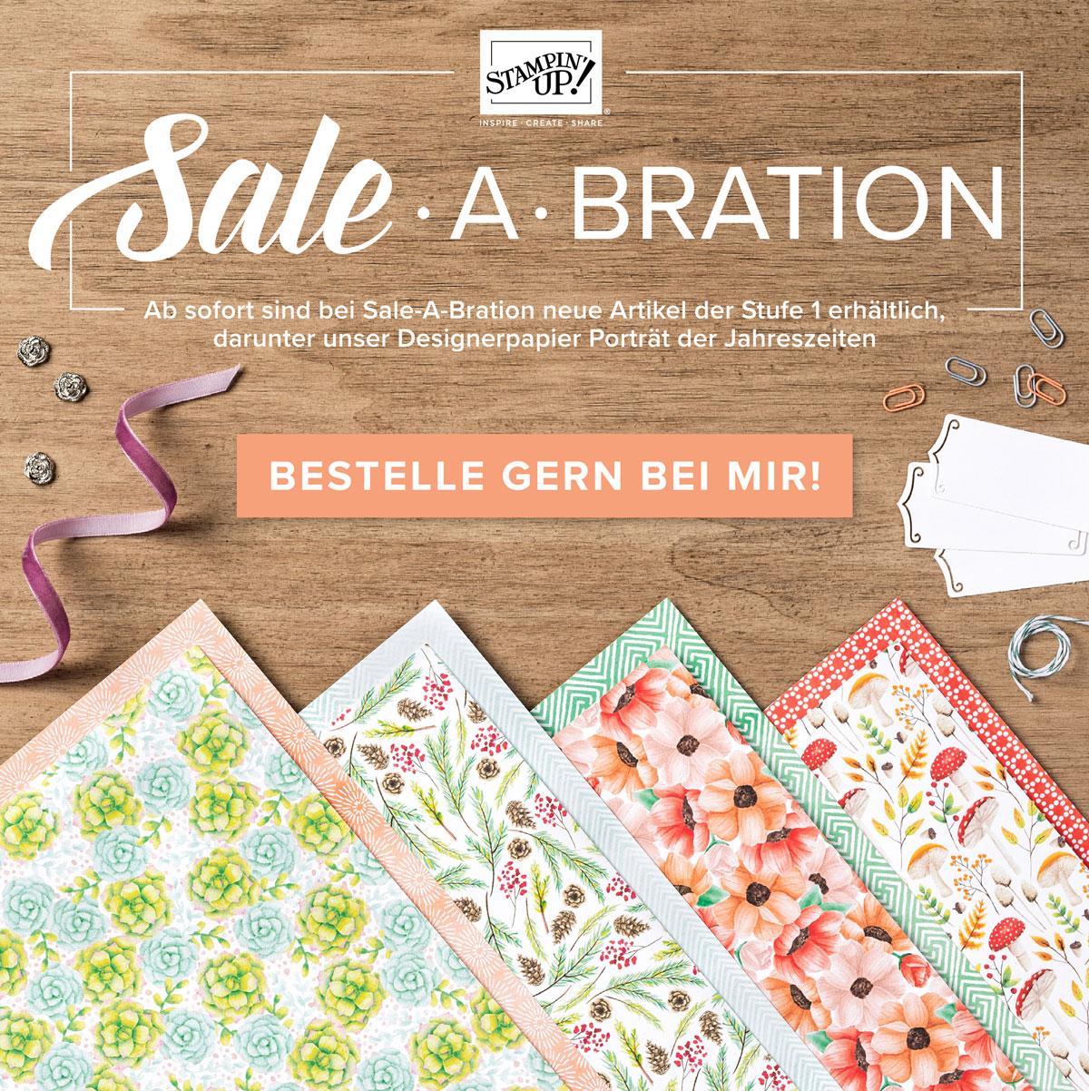Sale-a-bration 2. Nachschub